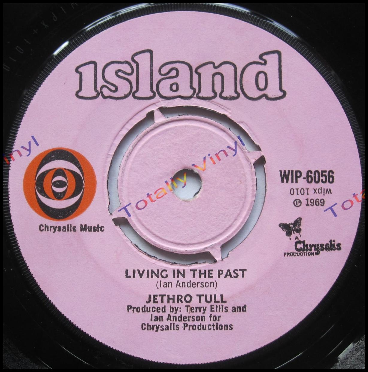 Totally Vinyl Records Jethro Tull Living In The Past