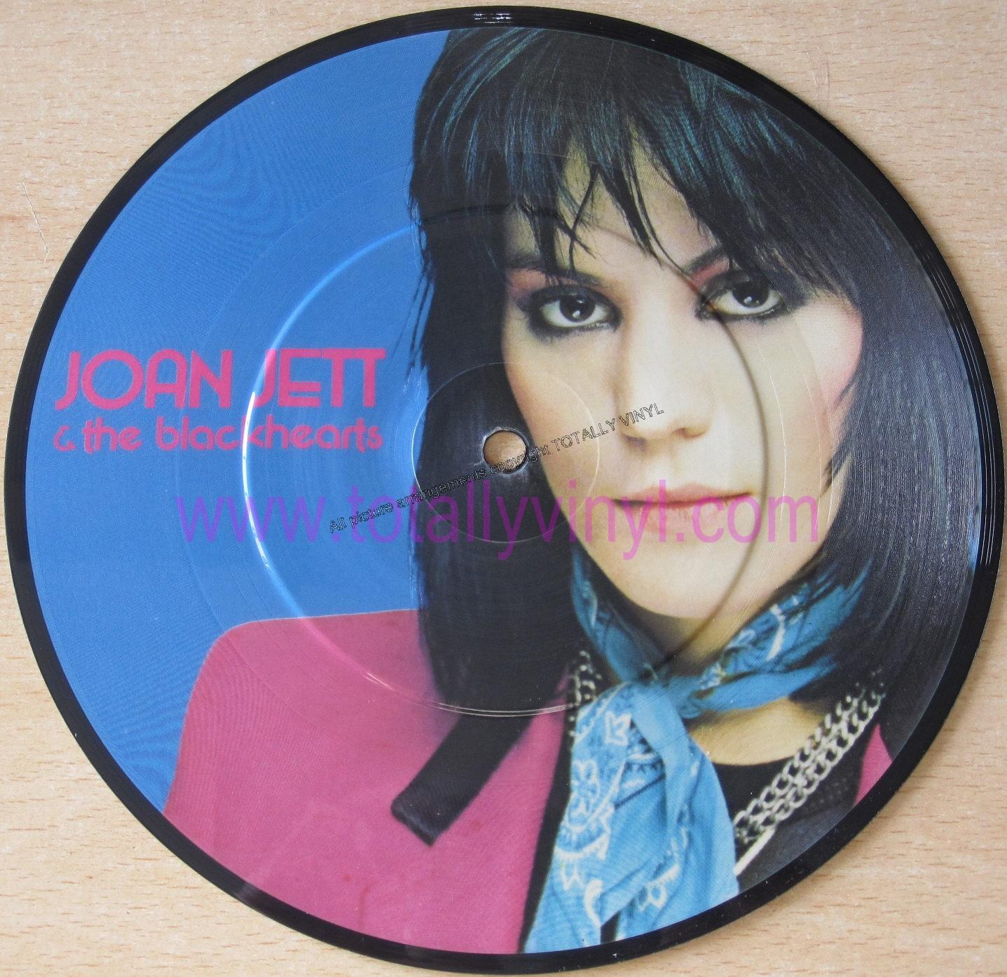Totally Vinyl Records Jett And The Blackhearts Joan