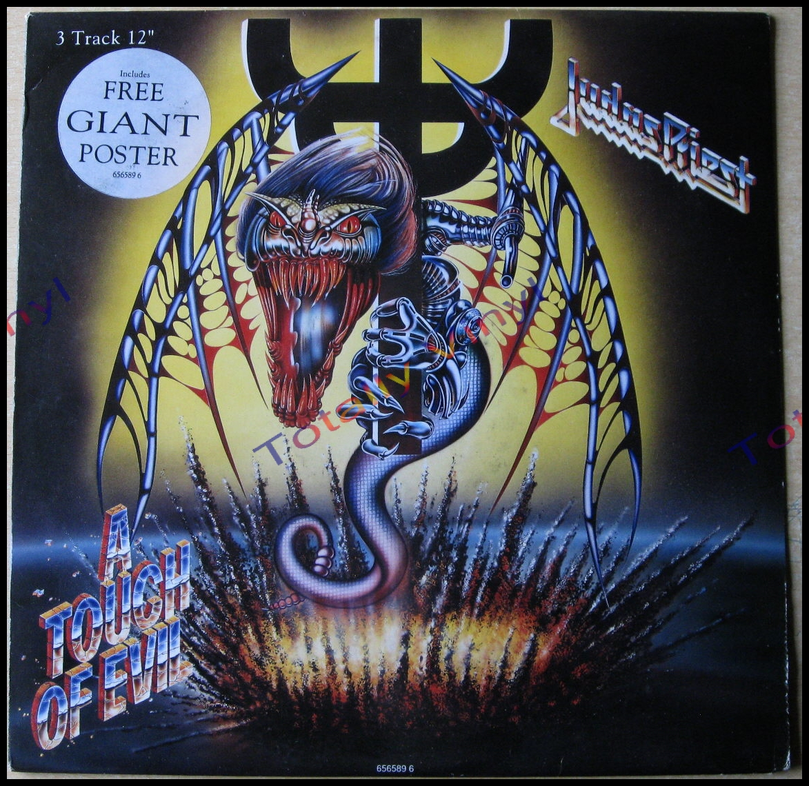 Totally Vinyl Records Judas Priest A Touch Of Evil 5