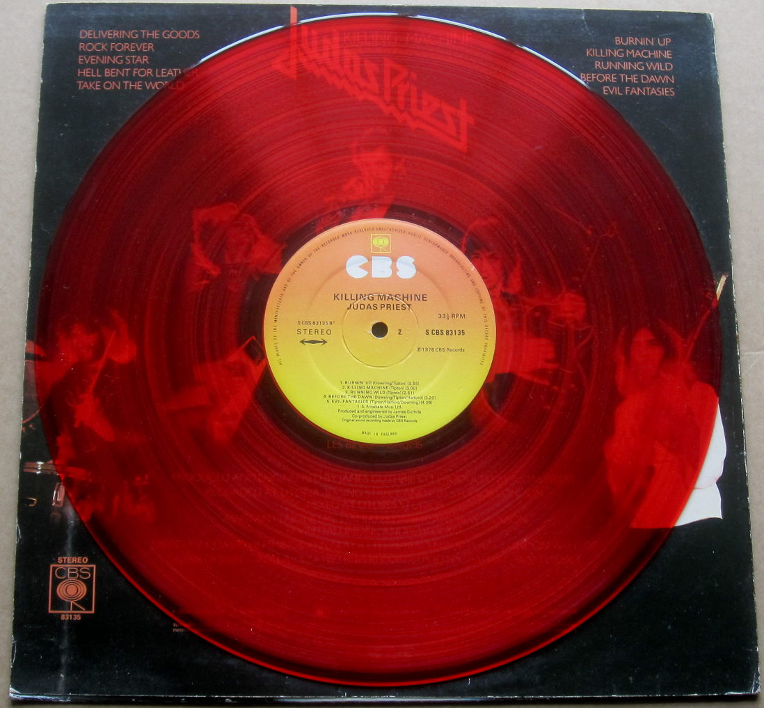 Totally Vinyl Records Judas Priest Killing Machine
