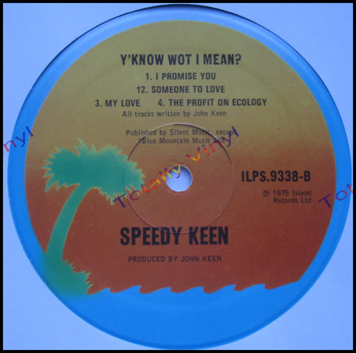 Totally Vinyl Records Keen Speedy Y Know Wot I Mean Lp