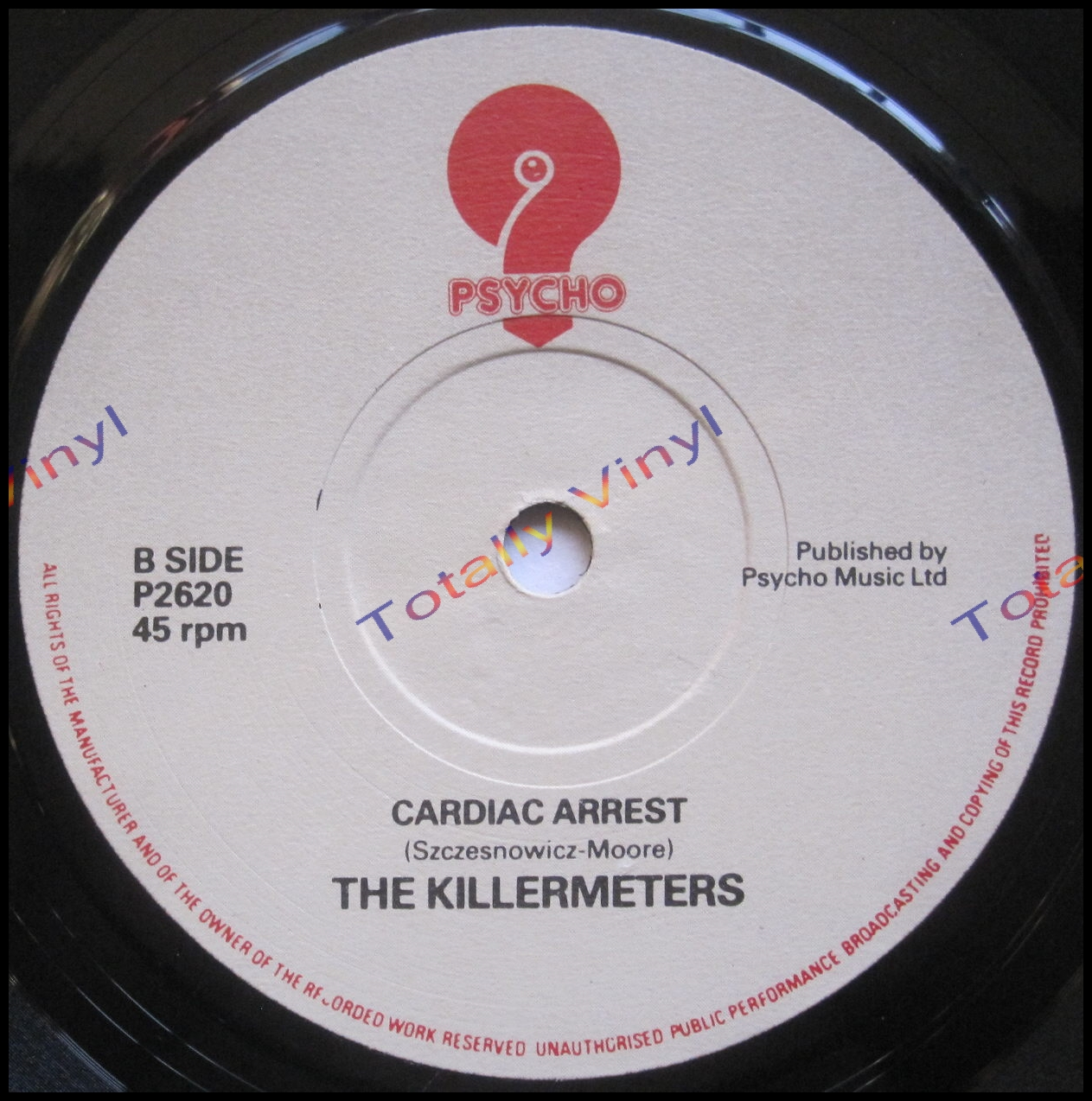 Totally Vinyl Records Killermeters The Why Should It