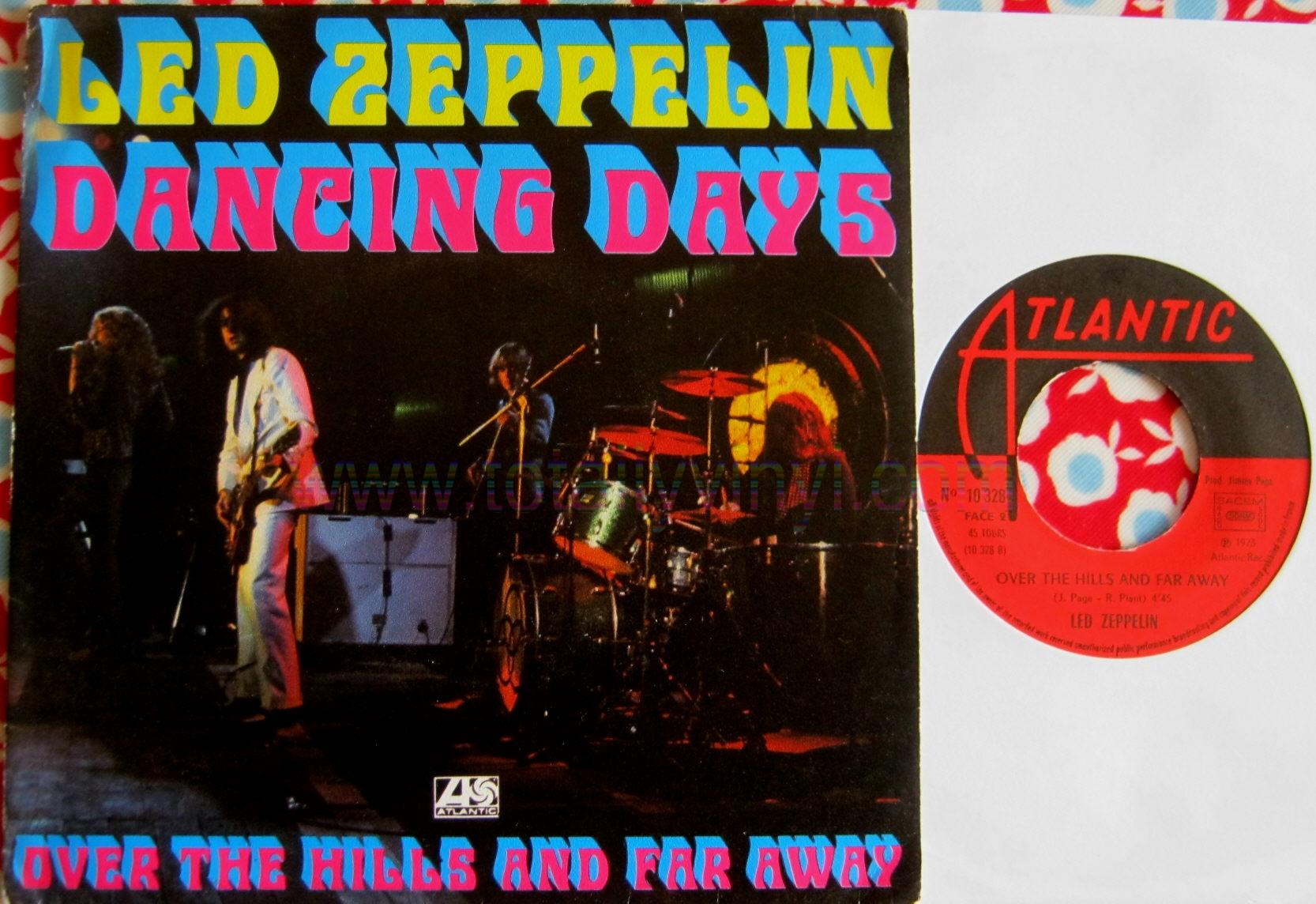 Totally Vinyl Records Led Zeppelin Dancing Days 7