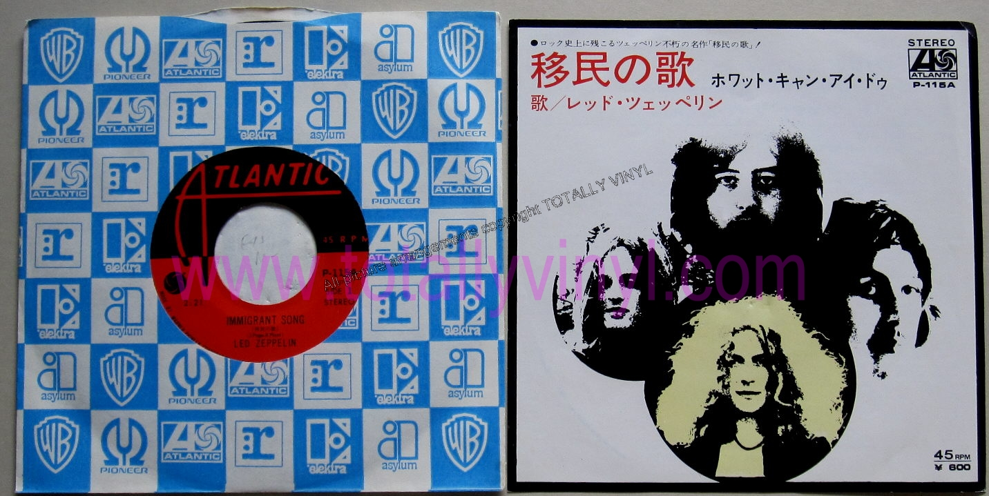 Totally Vinyl Records    Led Zeppelin - Immigrant song-2 21