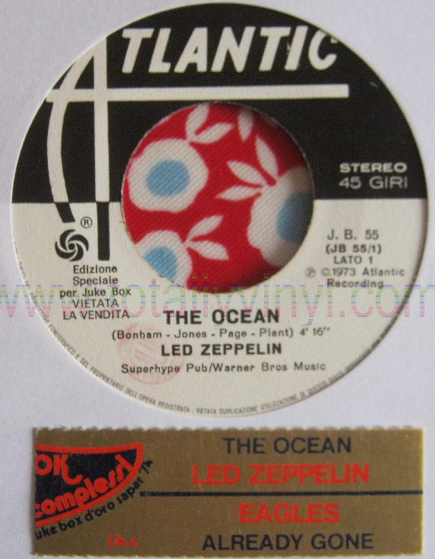 Totally Vinyl Records Led Zeppelin The Ocean 4 16