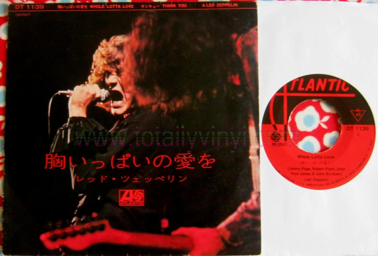 Totally Vinyl Records Led Zeppelin Whole Lotta Love