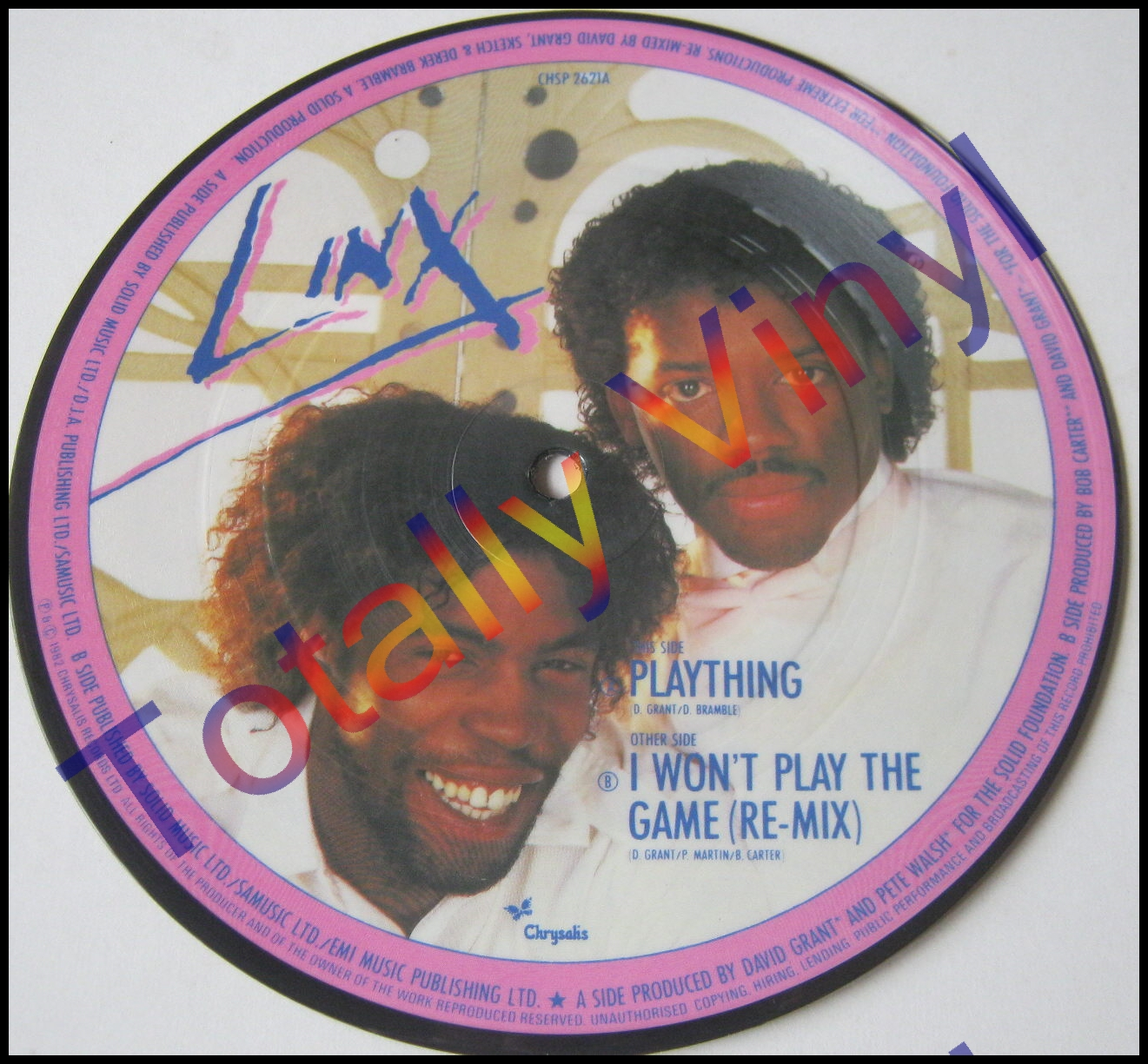 Linx - Plaything/I Won't Play The