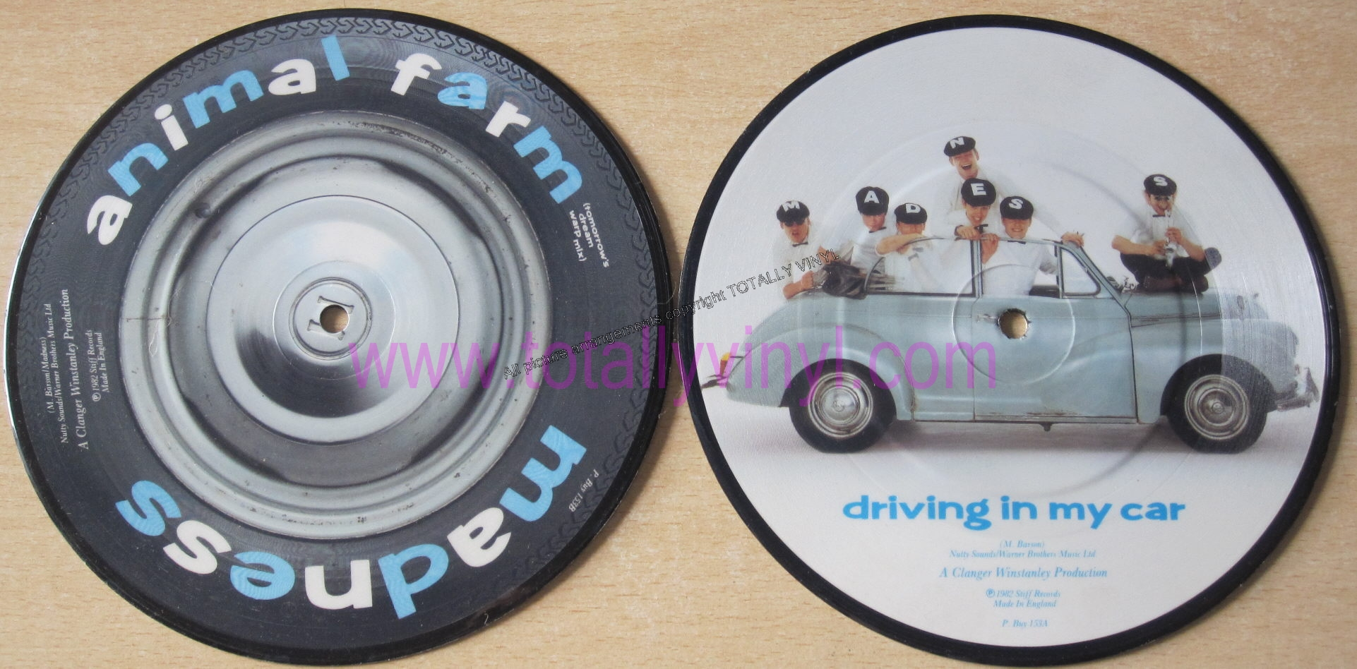 Madness Driving In My Car Picture Disc