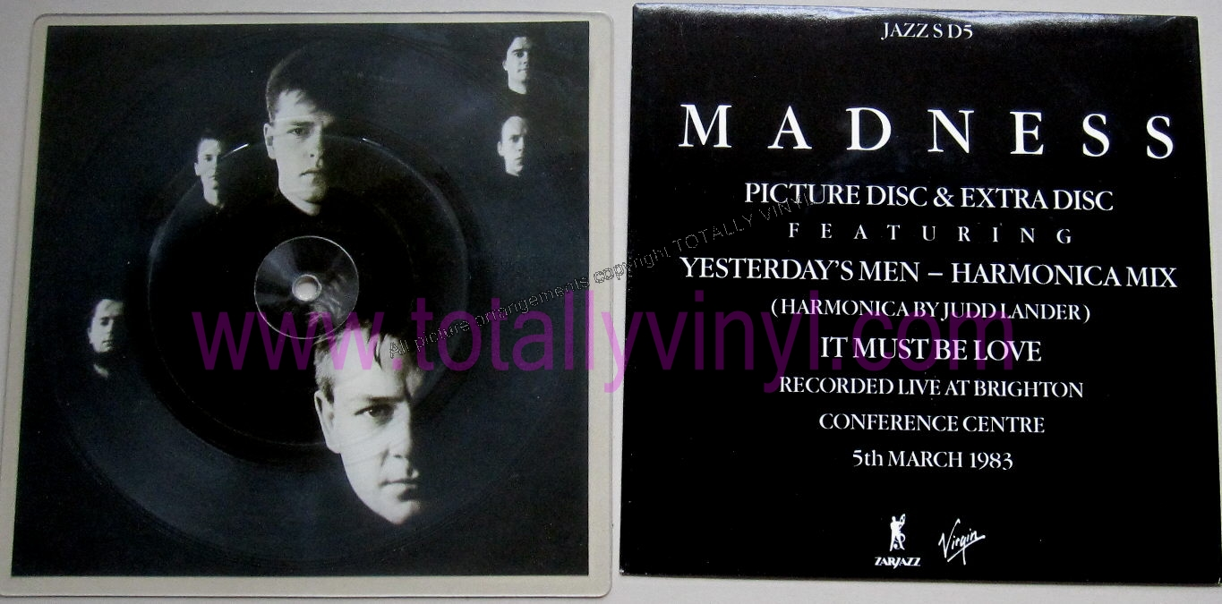 Totally Vinyl Records || Madness - Yesterday\u0027s men / All I knew ...