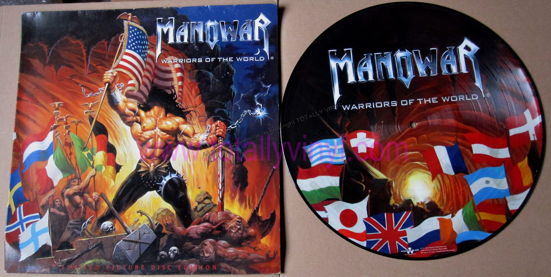 gods of war lyrics manowar: