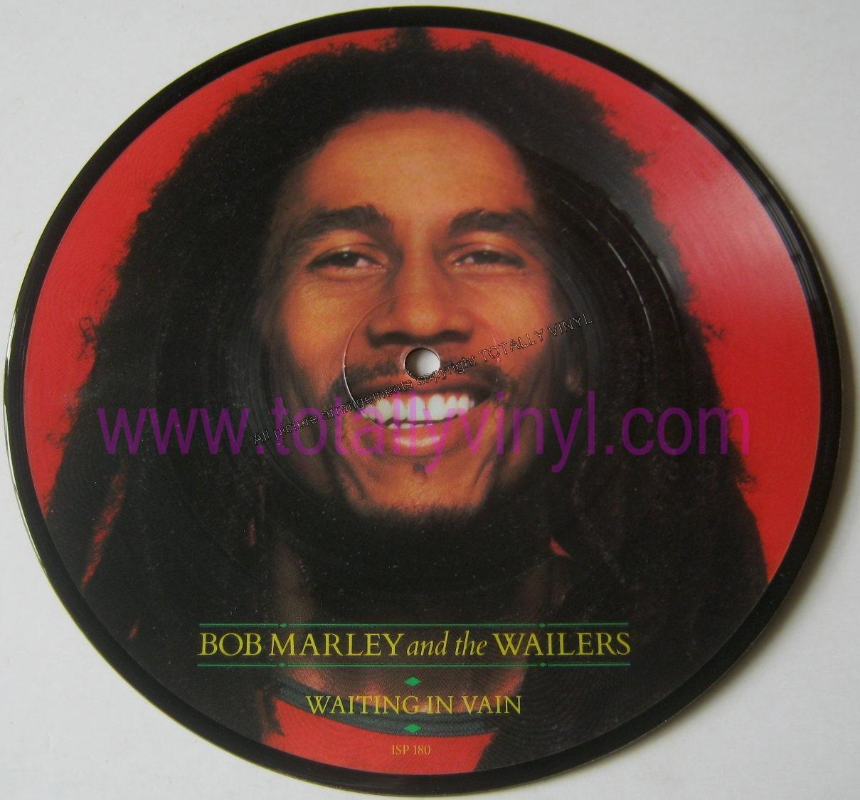 Totally Vinyl Records Marley Bob Waiting In Vain 7