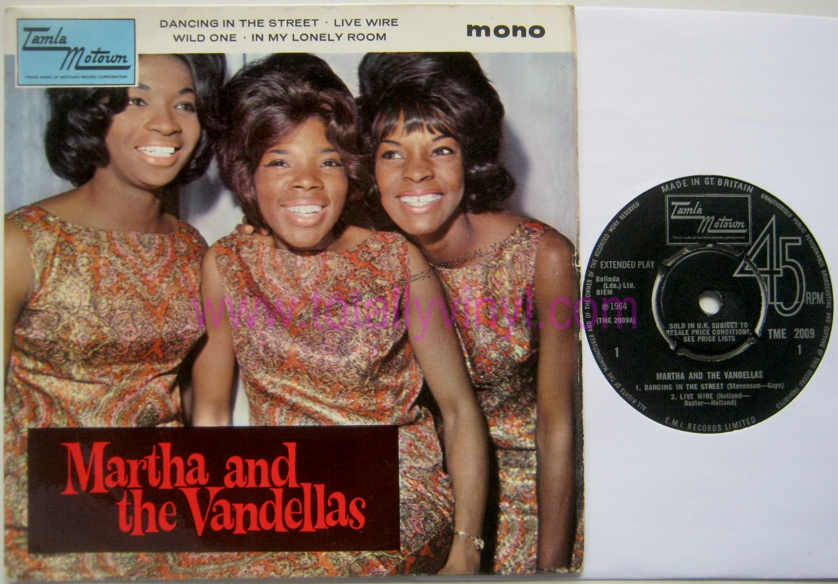 Martha and the vandellas phrase