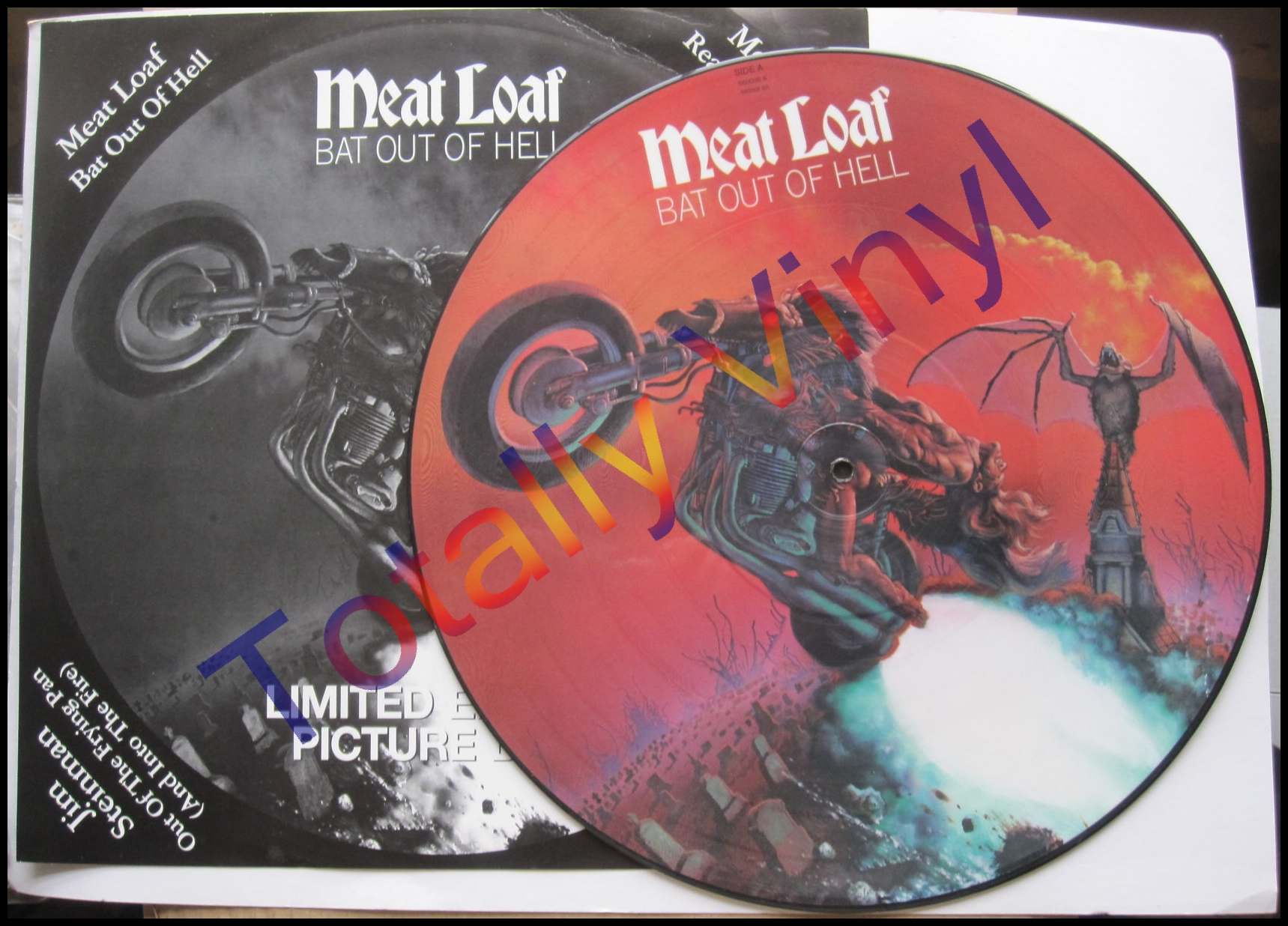 Totally Vinyl Records Meatloaf And Jim Steinman Bat