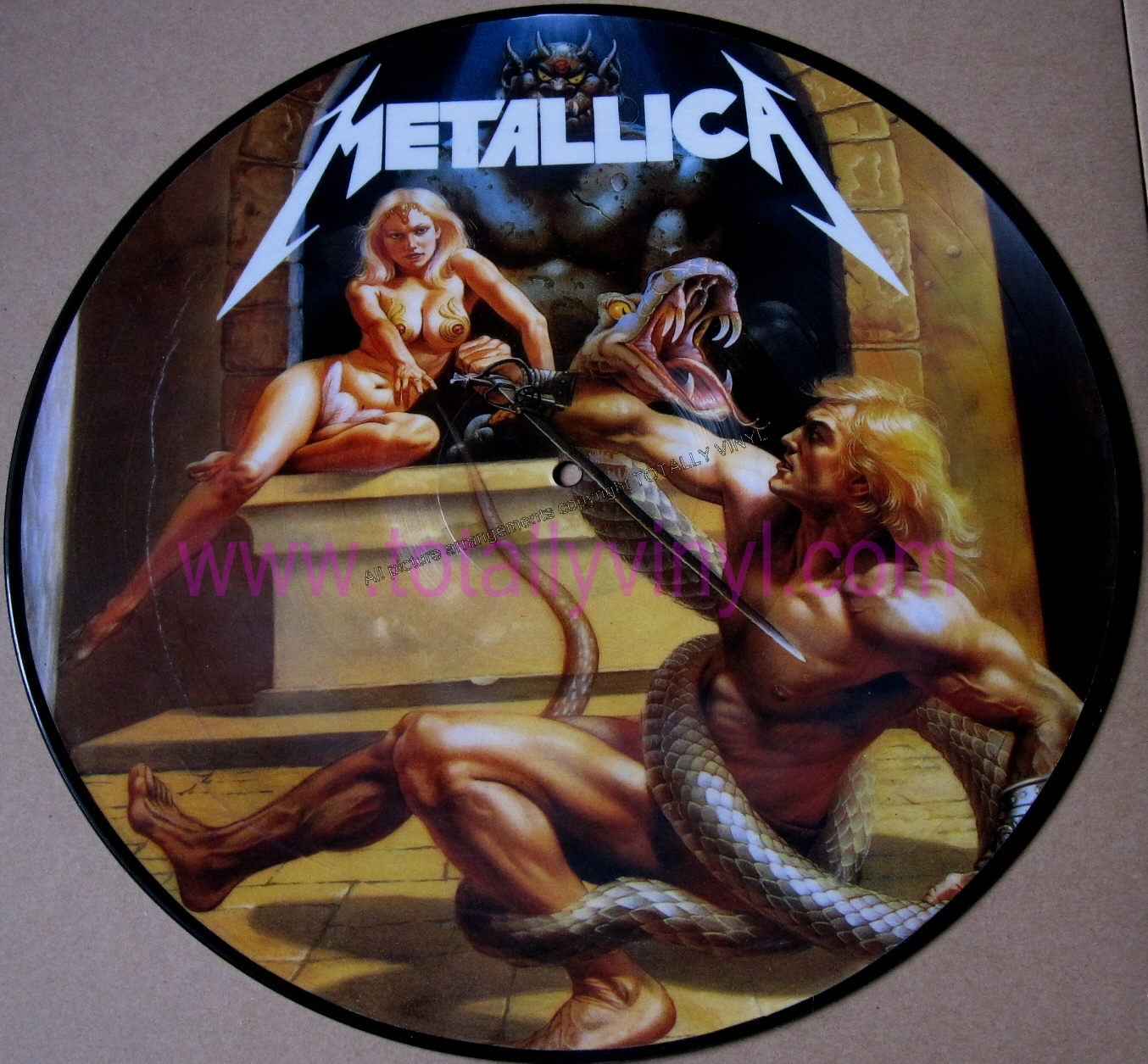 Totally Vinyl Records Metallica No Life Til Power Lp