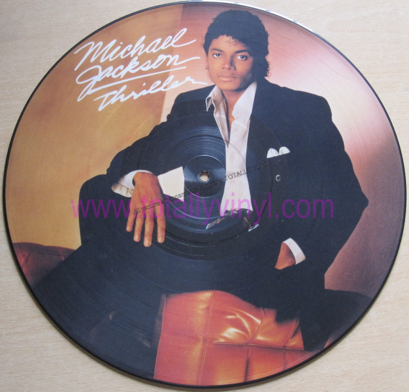 Totally Vinyl Records Jackson Michael Thriller Lp