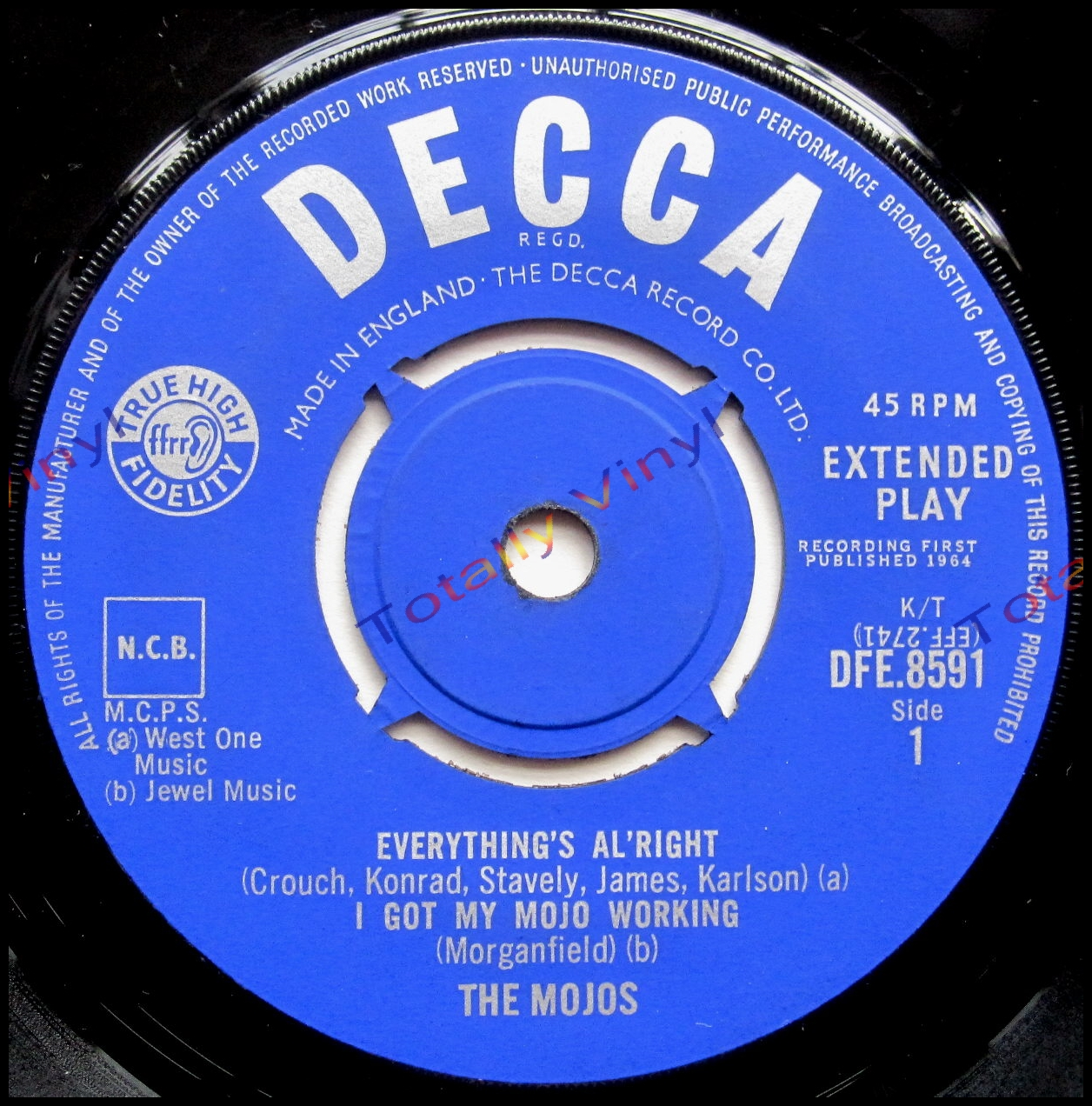 Totally Vinyl Records Mojos The Ep Everything S Al