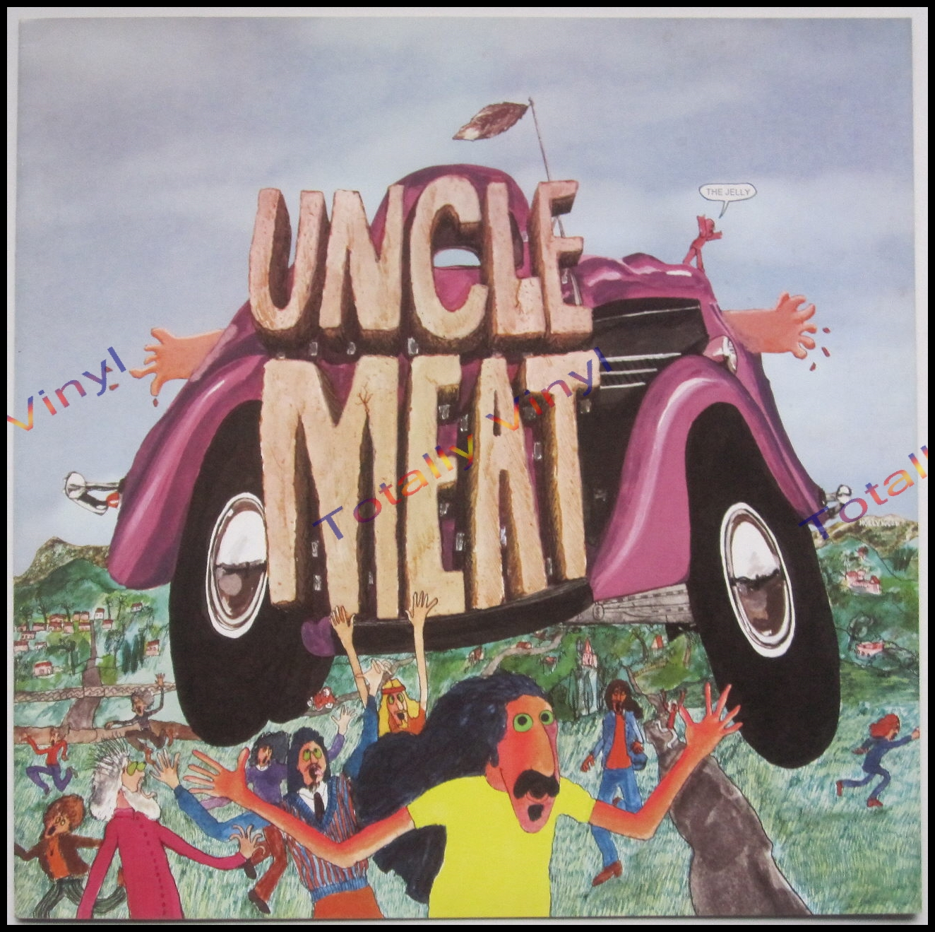 Totally Vinyl Records Mothers Of Invention The Uncle