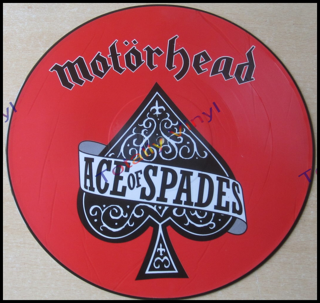 Totally Vinyl Records Motorhead Ace Of Spades 12 Inch