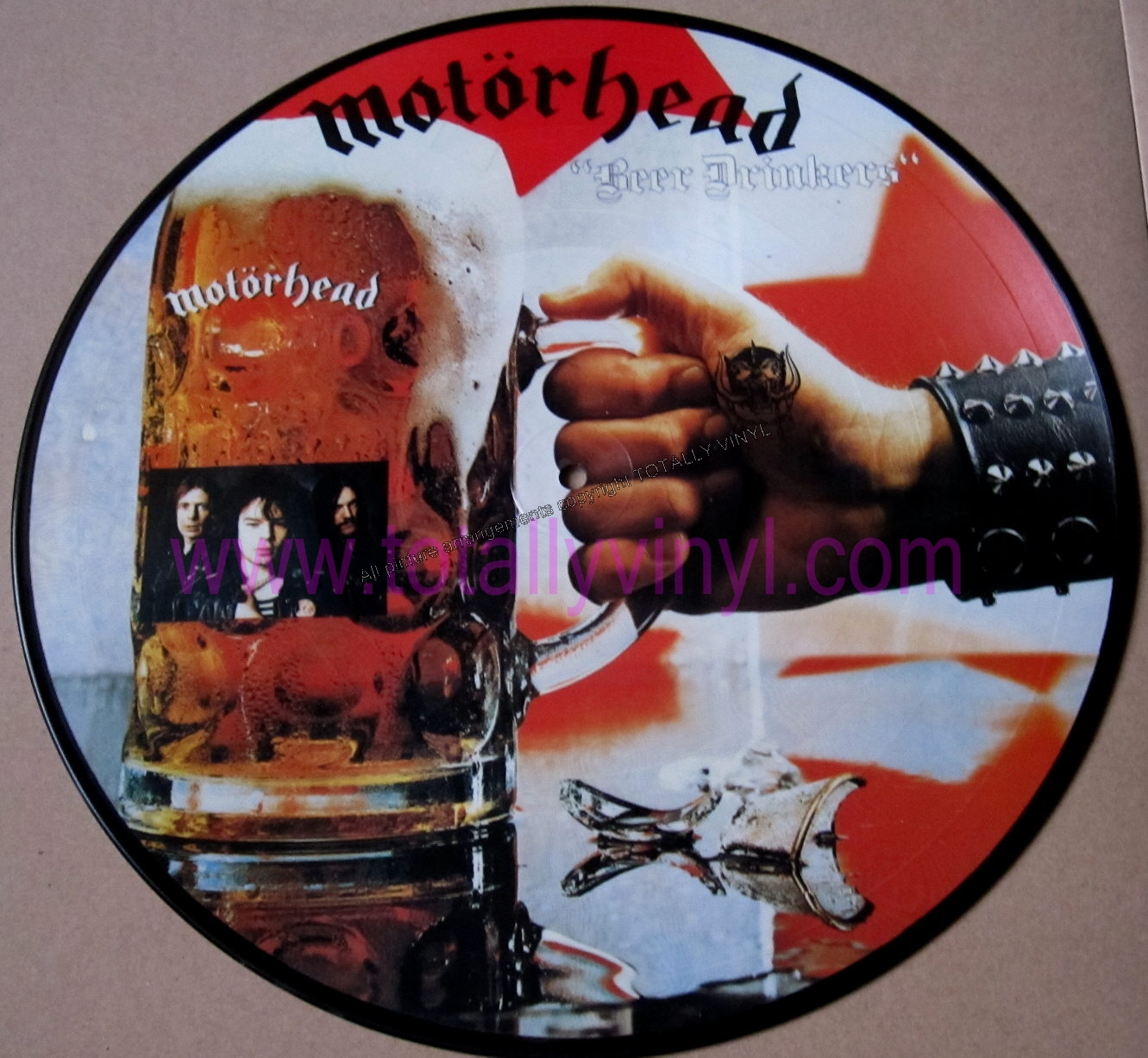 Totally Vinyl Records Motorhead Beer Drinkers Lp
