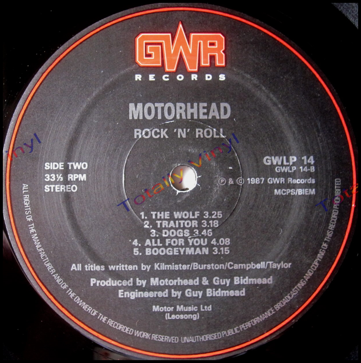 Totally Vinyl Records Motorhead Rock N Roll Lp