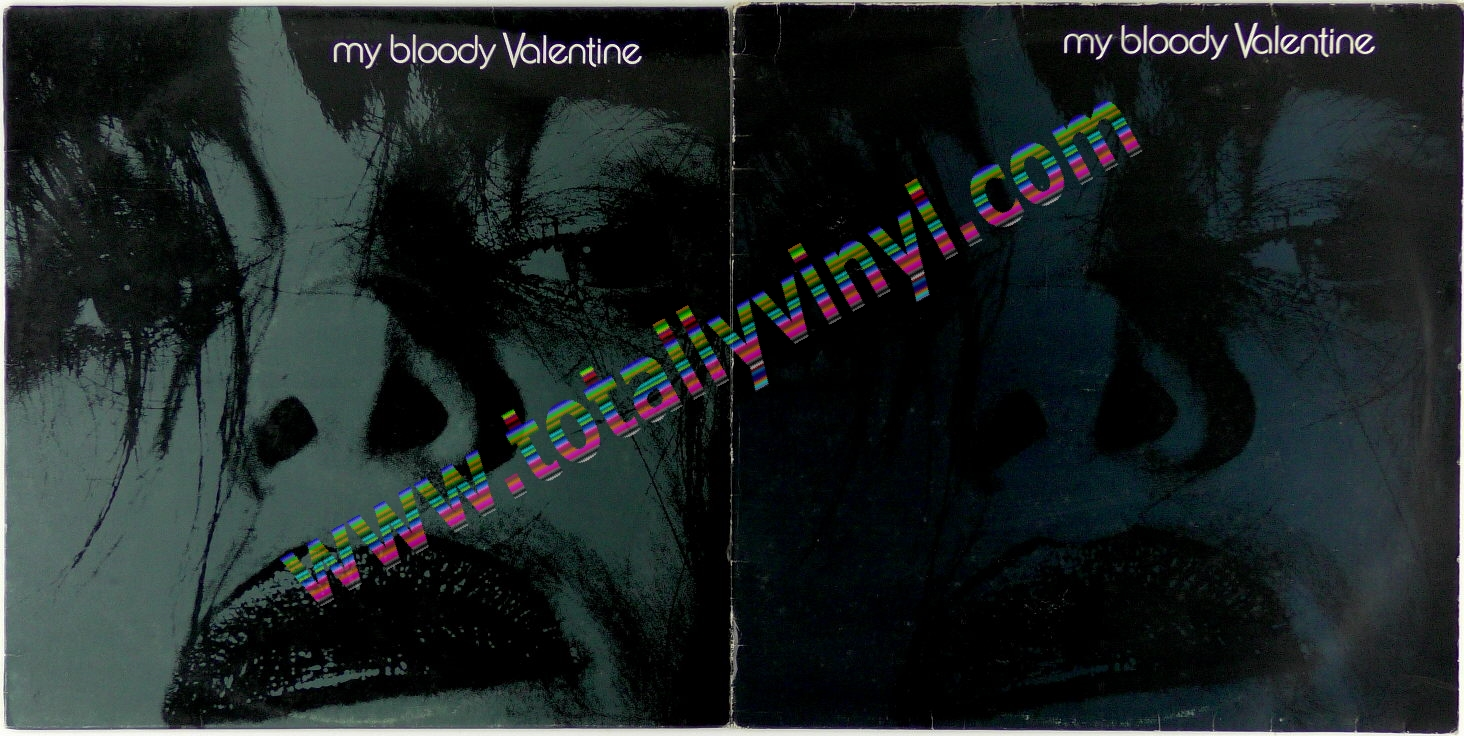 MY BLOODY VALENTINE Feed Me With Your Kiss Shoegaze Noise Canvas Patch