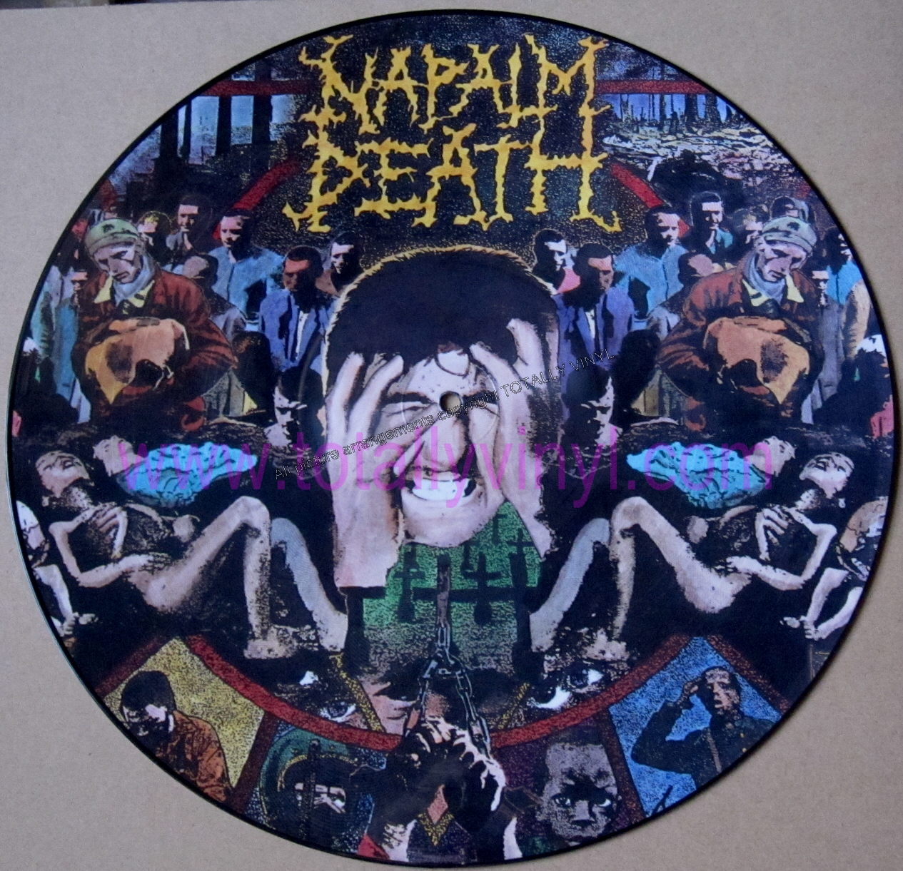 Totally Vinyl Records Napalm Death From Enslavement