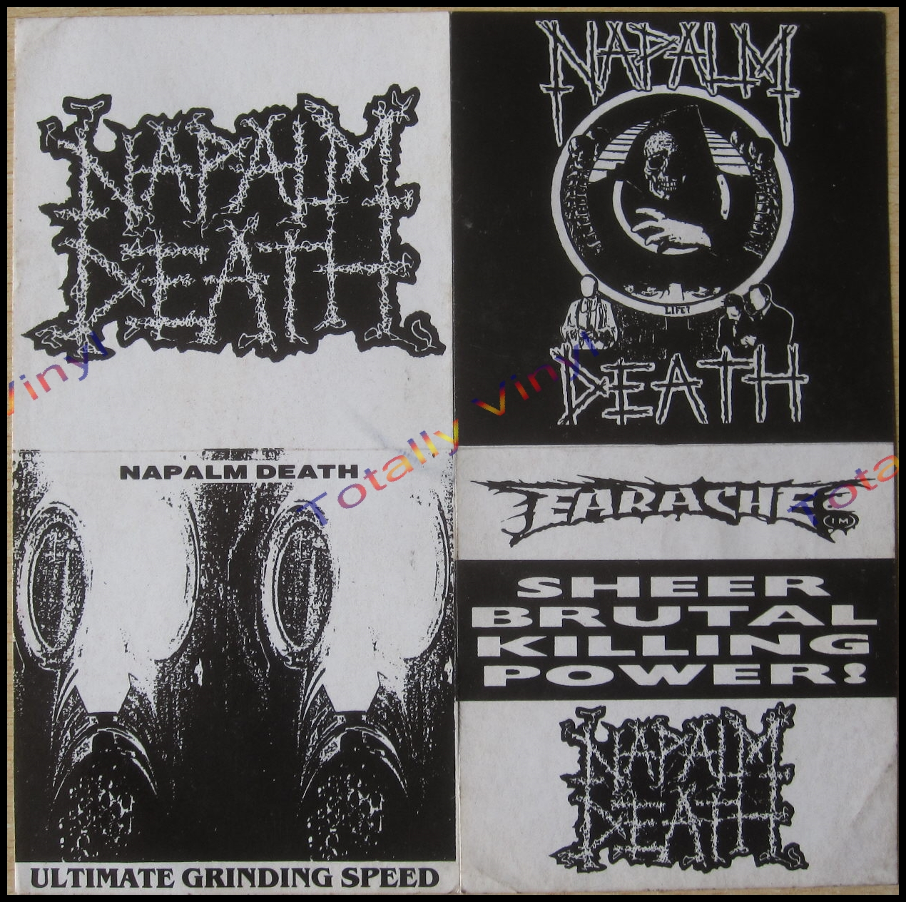 Totally Vinyl Records Napalm Death Suffer The