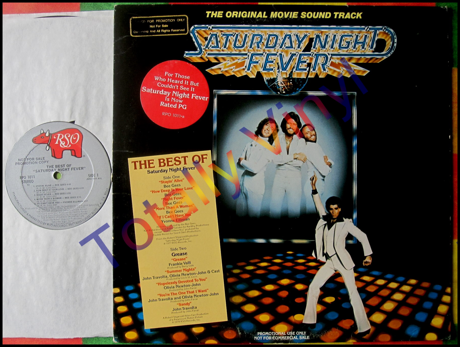 Various Staying Alive The Original Motion Picture Soundtrack