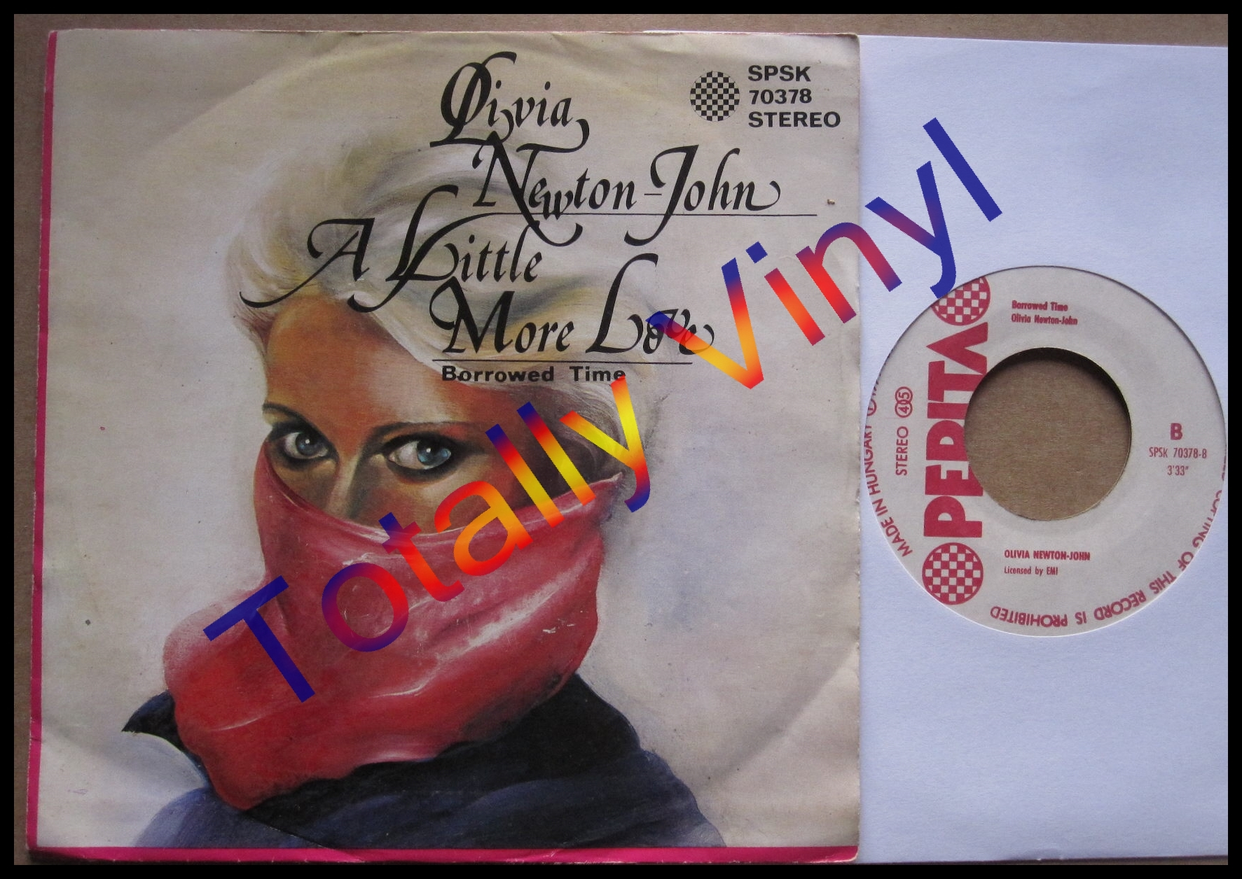 Totally vinyl records newton john olivia a little - Pepita oliva ...