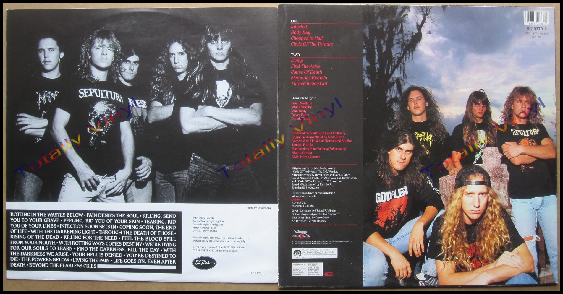Totally Vinyl Records || Obituary - Cause of death LP