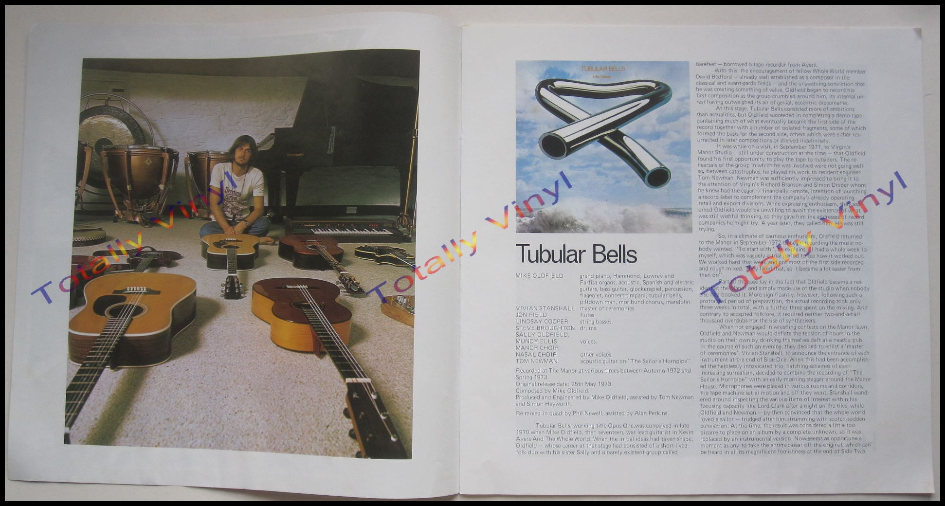 Totally Vinyl Records Oldfield Mike Mike Oldfield