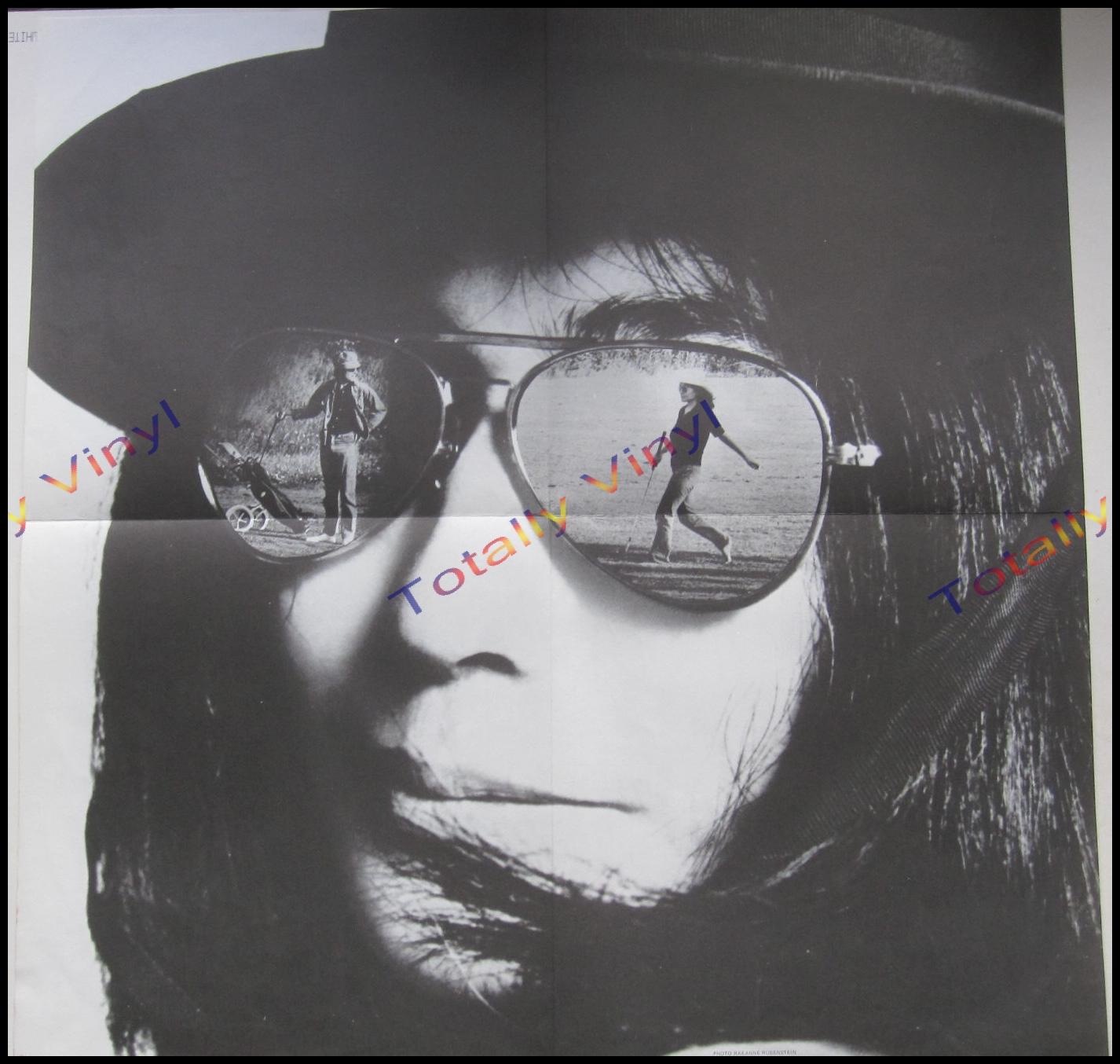 Totally Vinyl Records Ono Yoko Fly Lp Postcard Poster
