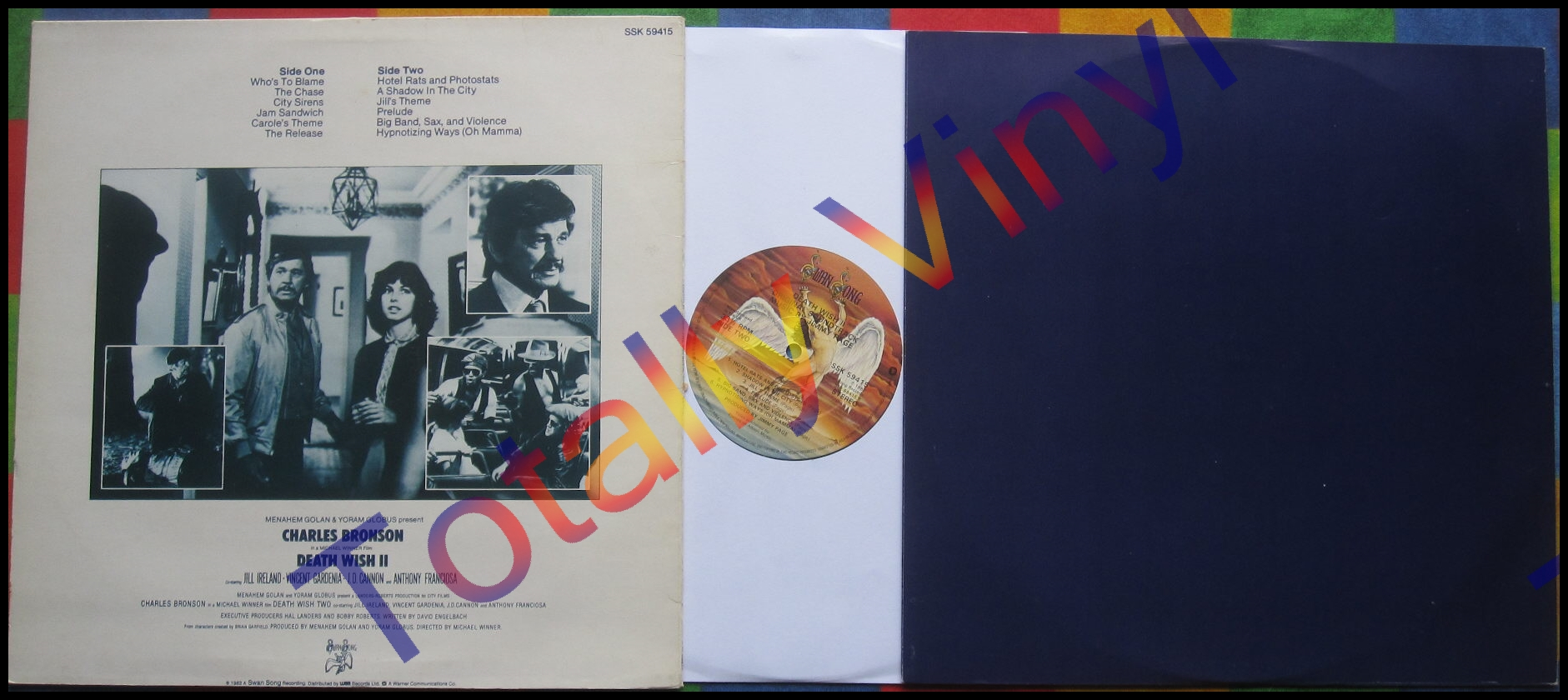 Totally Vinyl Records Page Jimmy Deathwish Ii