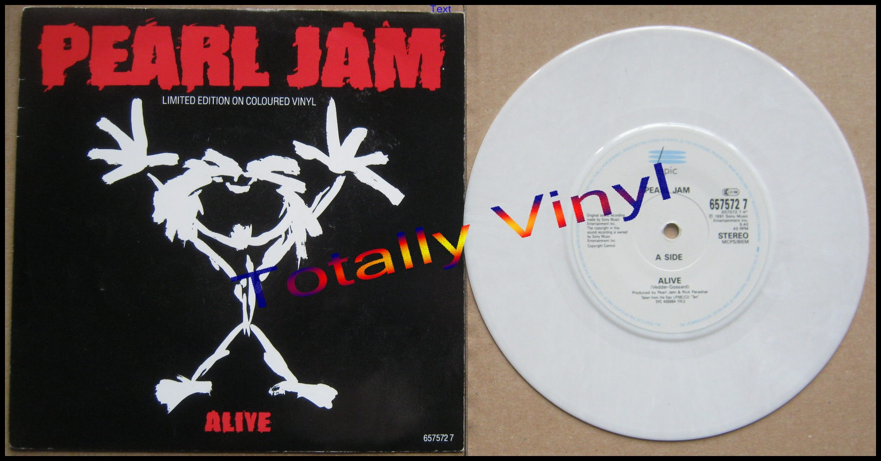 Totally Vinyl Records || Pearl Jam - Alive (5 40)/Once 3 51