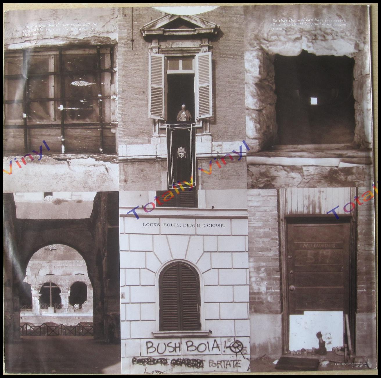 Totally Vinyl Records Pearl Jam Vitalogy Booklet Lp