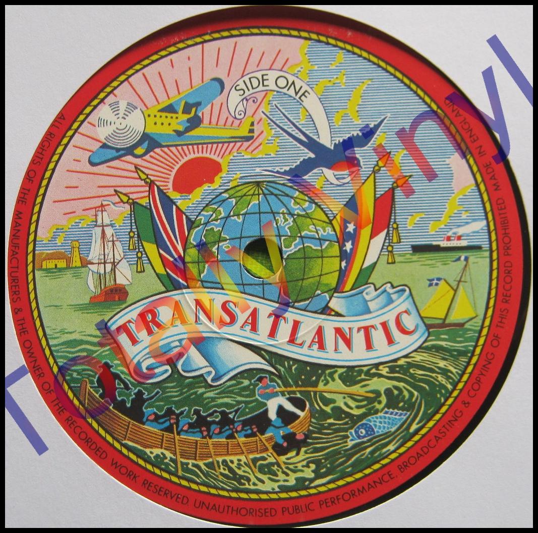 Totally Vinyl Records Pentangle Reflection Lp