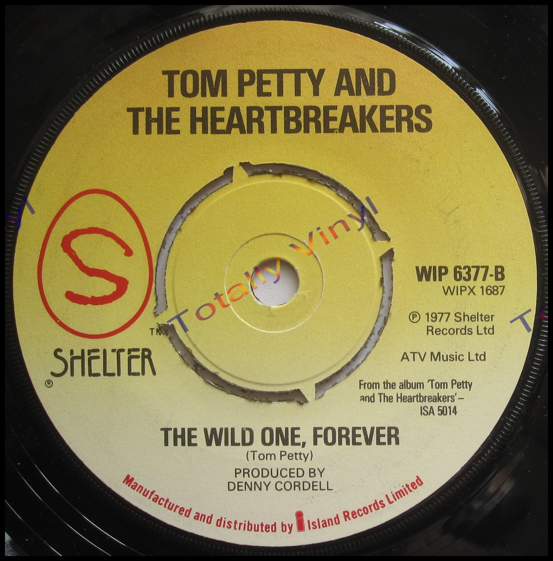 Totally Vinyl Records Petty And The Heartbreakers Tom