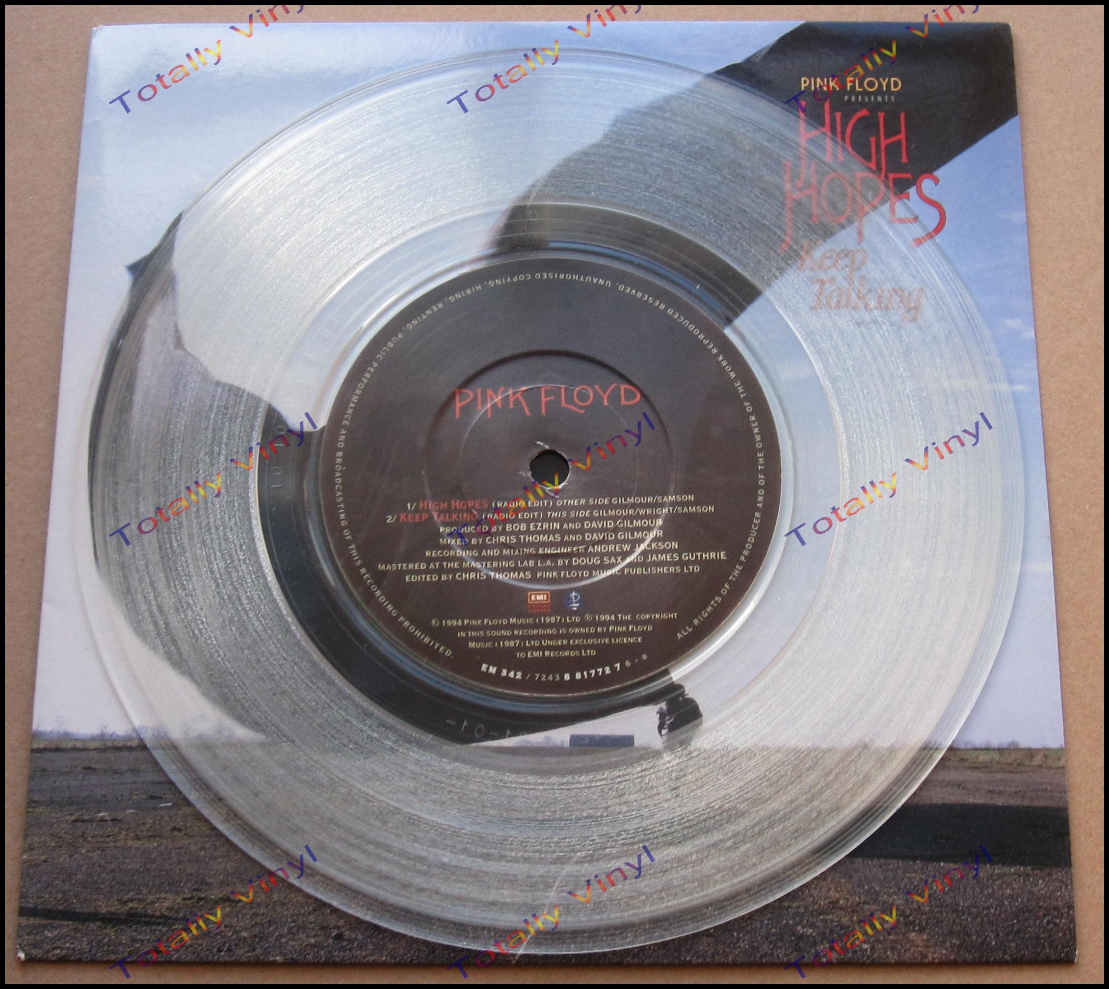 Totally Vinyl Records Pink Floyd High Hopes Radio