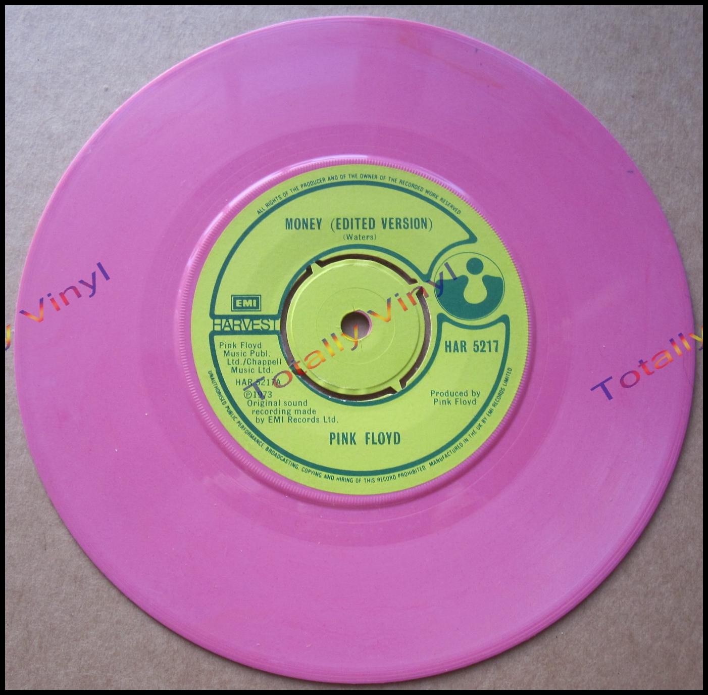 Totally Vinyl Records Pink Floyd Money Edited