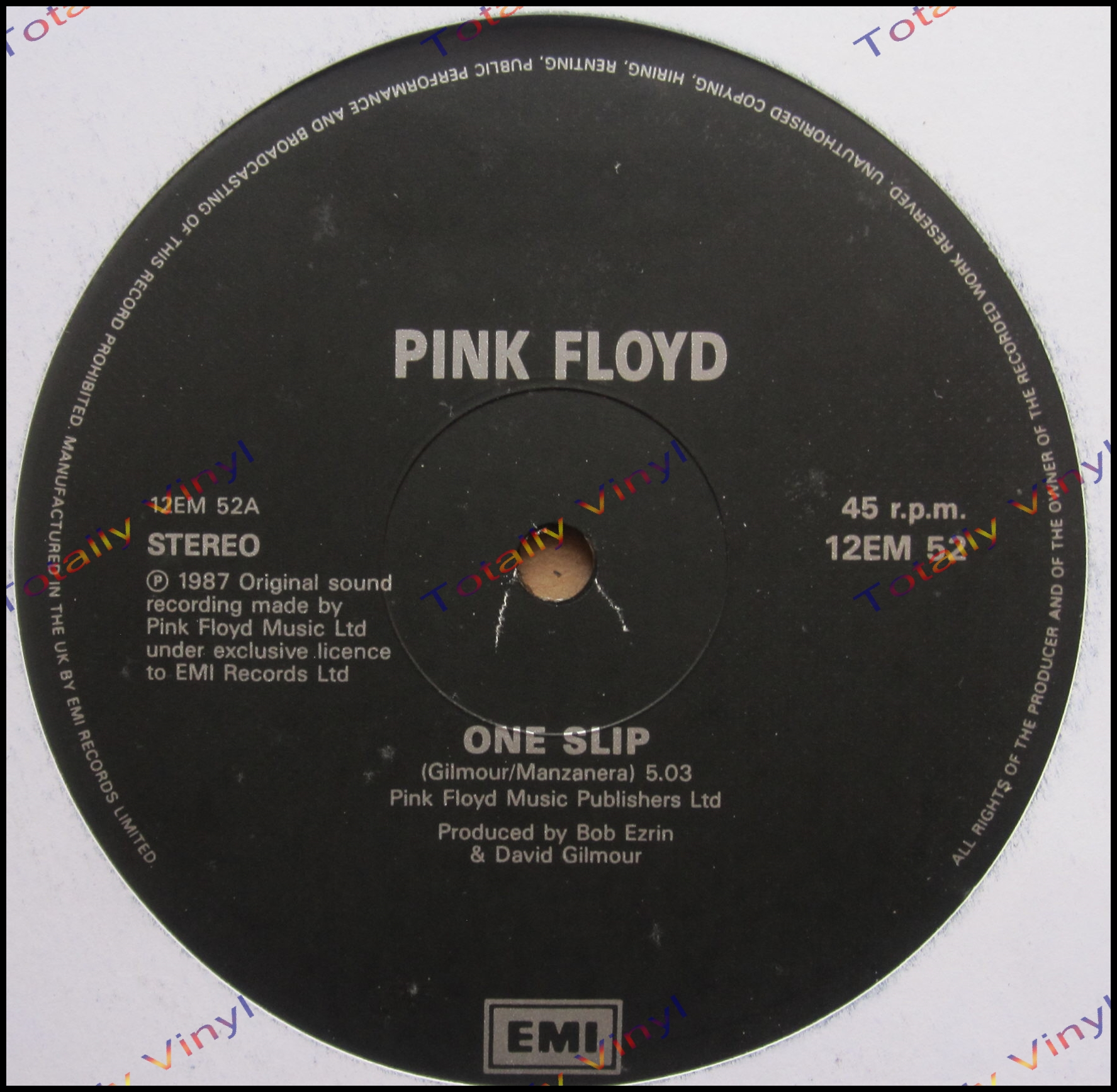 Totally Vinyl Records Pink Floyd One Slip 5 03