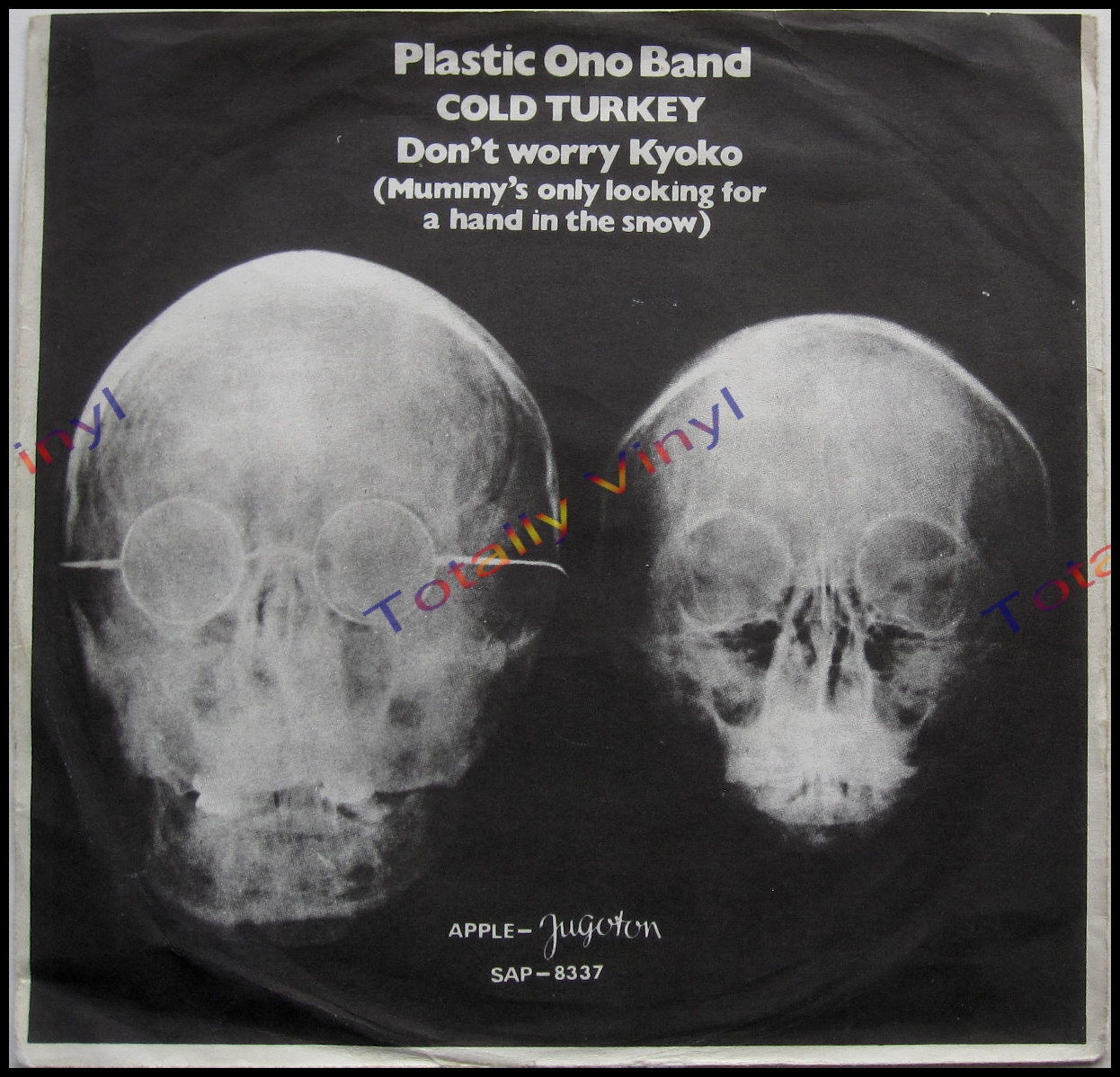 Totally Vinyl Records Plastic Ono Band Cold Turkey 7