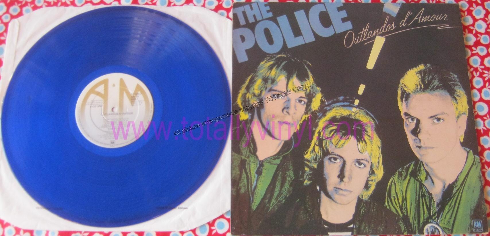 Totally Vinyl Records Police The Outlandos D Amour