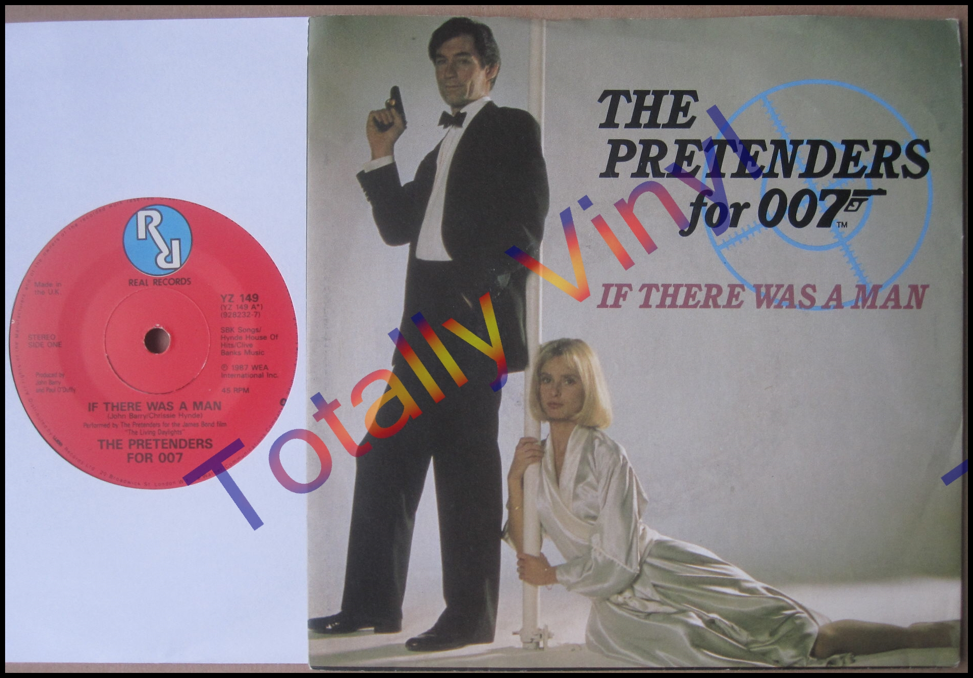 Totally Vinyl Records Pretenders For 007 The If
