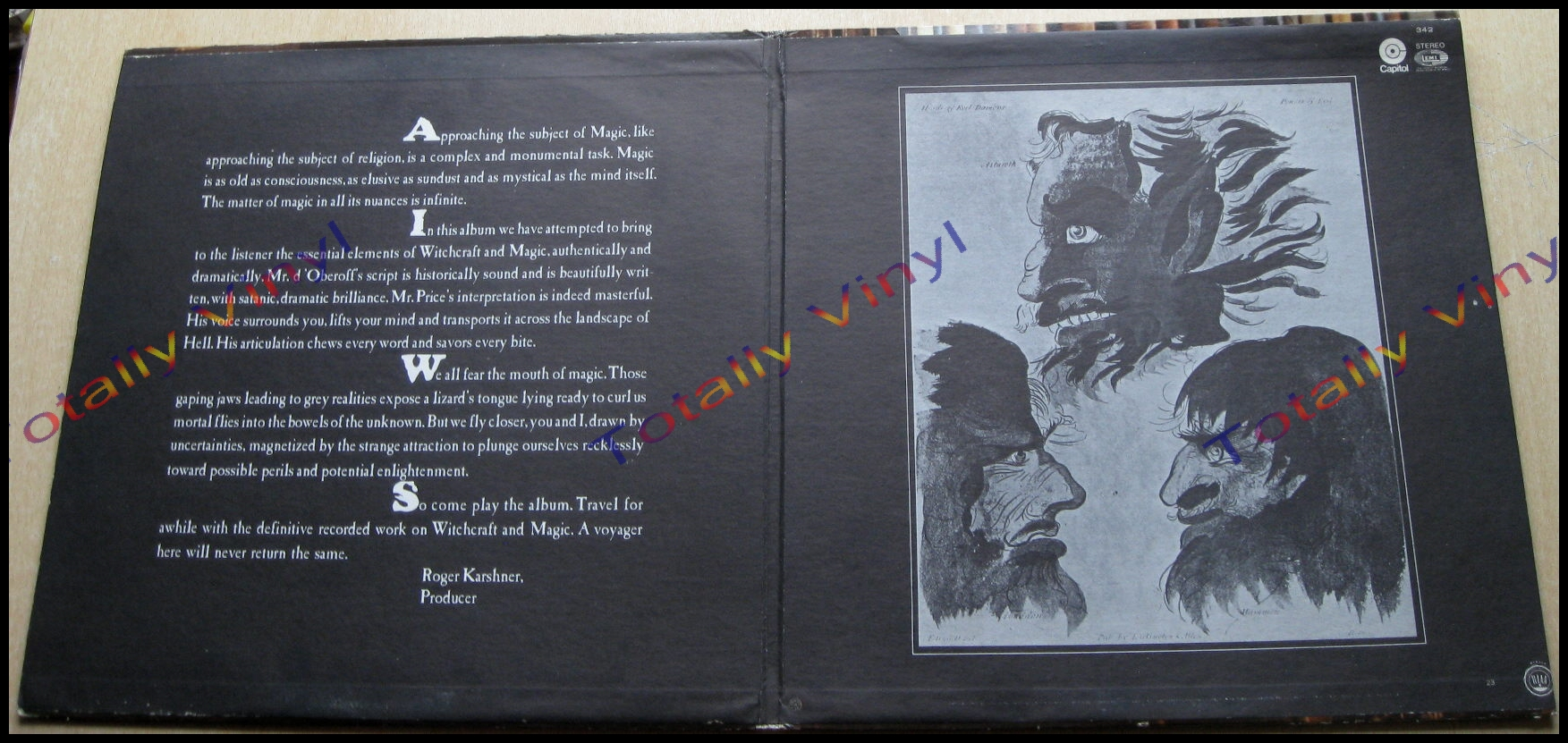 Totally Vinyl Records Price Vincent Witchcraft