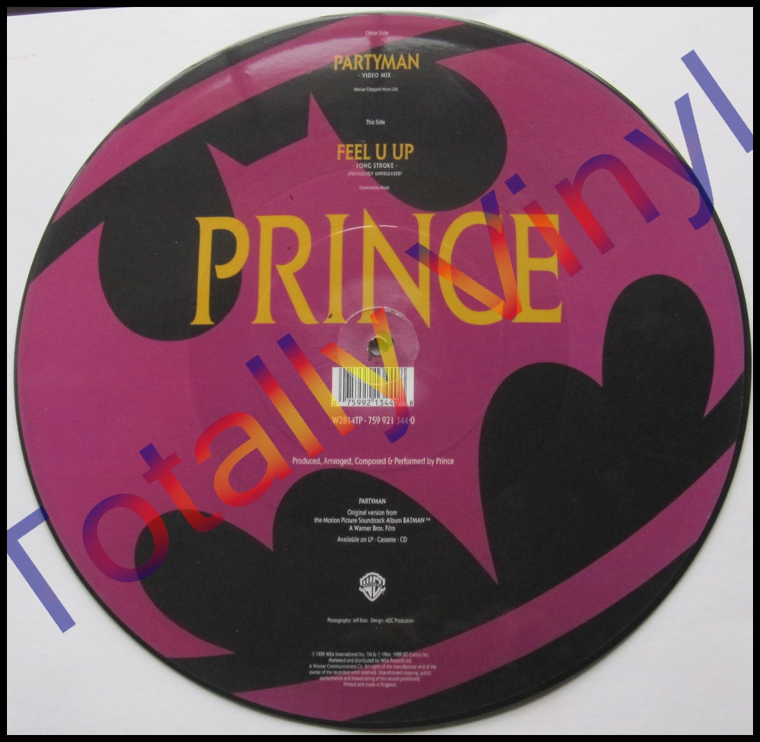 Totally Vinyl Records Prince Partyman Video Mix 12