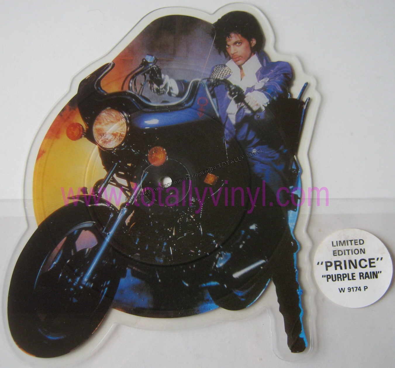 Totally Vinyl Records Prince Purple Rain 7 Inch