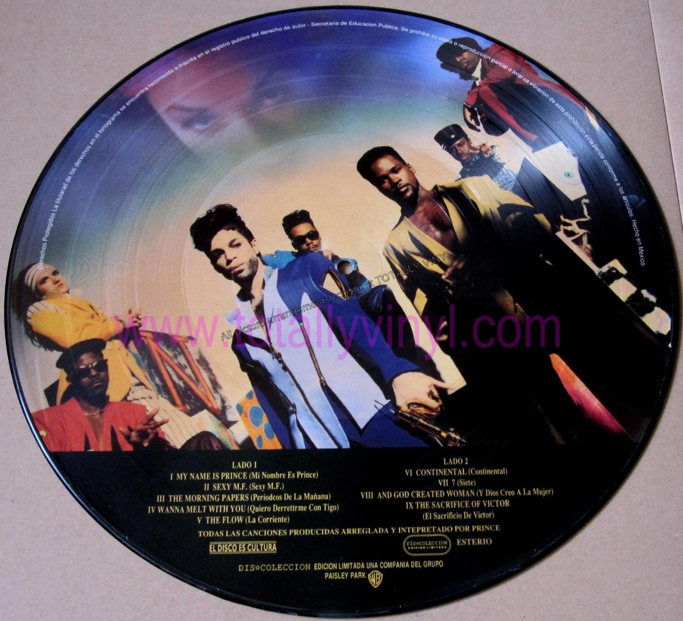 Totally Vinyl Records Prince Symbol Lp Picture Disc Vinyl