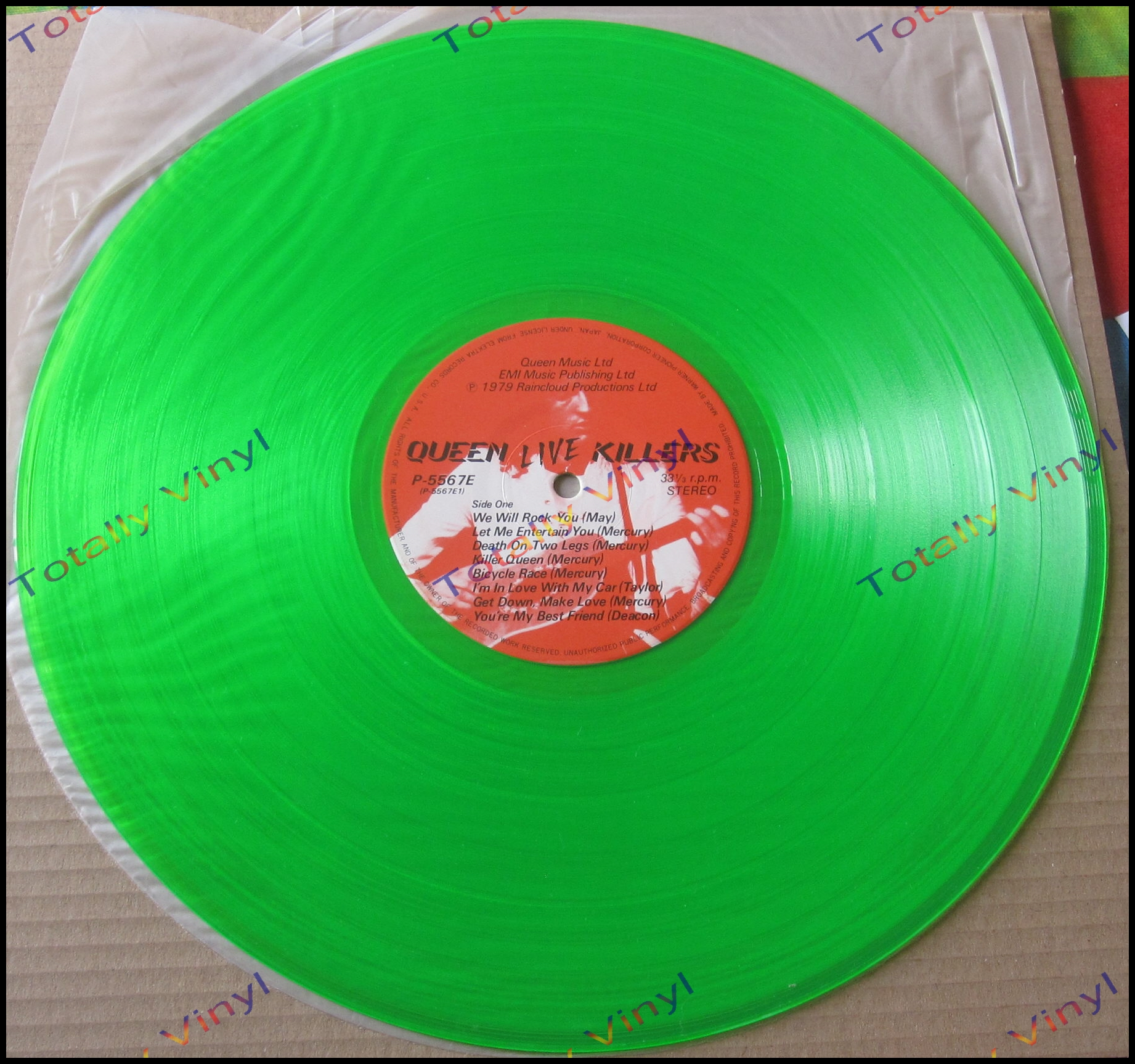 Totally Vinyl Records Queen Live Killers Coloured