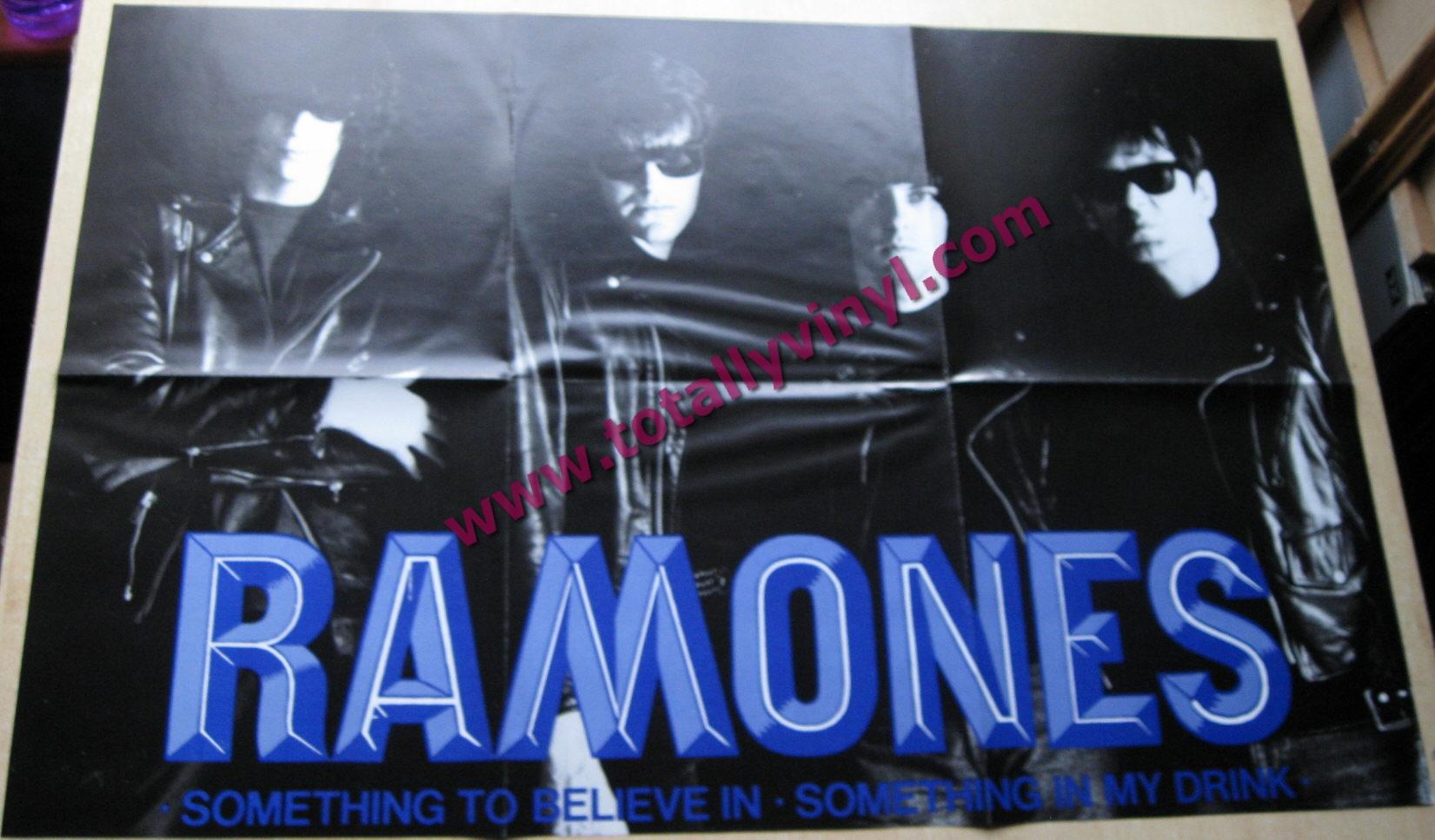 Totally Vinyl Records Ramones Something To Believe In
