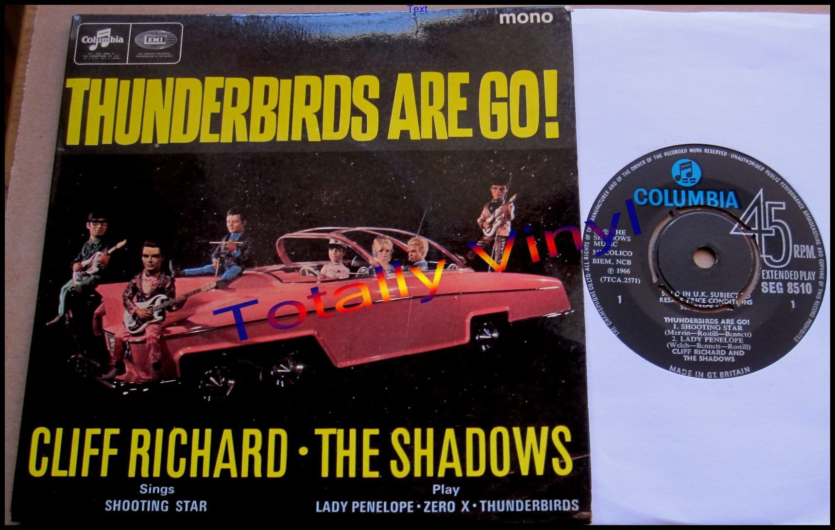 Totally Vinyl Records || Richard and the Shadows, Cliff